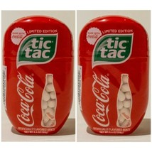2 Brand New Coca Cola Flavored Tic Tac 3.4 oz/200 Count Each Limited Edition - $13.81