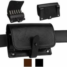 BronzeDog Leather Shotgun Shell Holder, Hunting Ammo Pouch, Leather Ammo... - $16.79