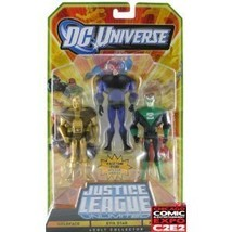 DC Universe Justice League Unlimited Action Figure 3Pack Goldface, Evil ... - $15.73