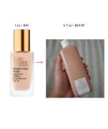 Estee Lauder Double Wear NUDE Water Fresh Makeup SPF 30 6.7oz DRAM CHOOSE SHADE! - $50.00