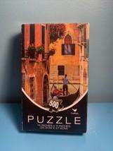 "Jigsaw Puzzle FRENCH SCENE 500 Pieces 14"" x 11"" Brand New - $9.90"