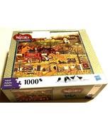 "2009 Charles Wysocki Americana Black Bird's Roost 1000 Puzzle 26"" x 23"" ... - $44.50"