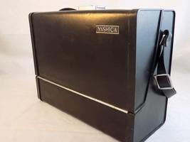 Vintage HARD SIDED LEATHER CAMERA CASE by YASHICA Held Yashica ELectro 3... - $32.66
