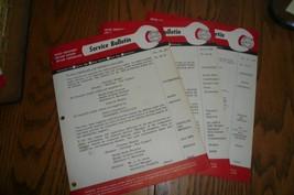 MOPAR 3 Chrysler Imperial Service Tech Bulletin Accessories # 58-19 58-25 58-32 - $7.84