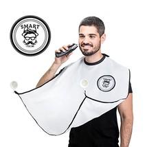 Beard Catcher Bib Apron Beard Cape for Shaving-Hair Clippings Catcher & Grooming image 1