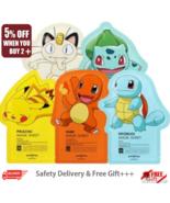 [Tony Moly] Pokemon Mask Pack Sheet 21g x 2pcs Random with Free Gift - $6.90