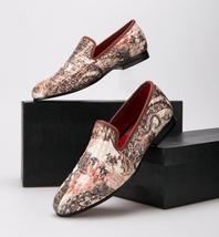 """New Velvet """"Old World"""" Hand-Drawn Uppers Men's Loafers !  - $194.99"""