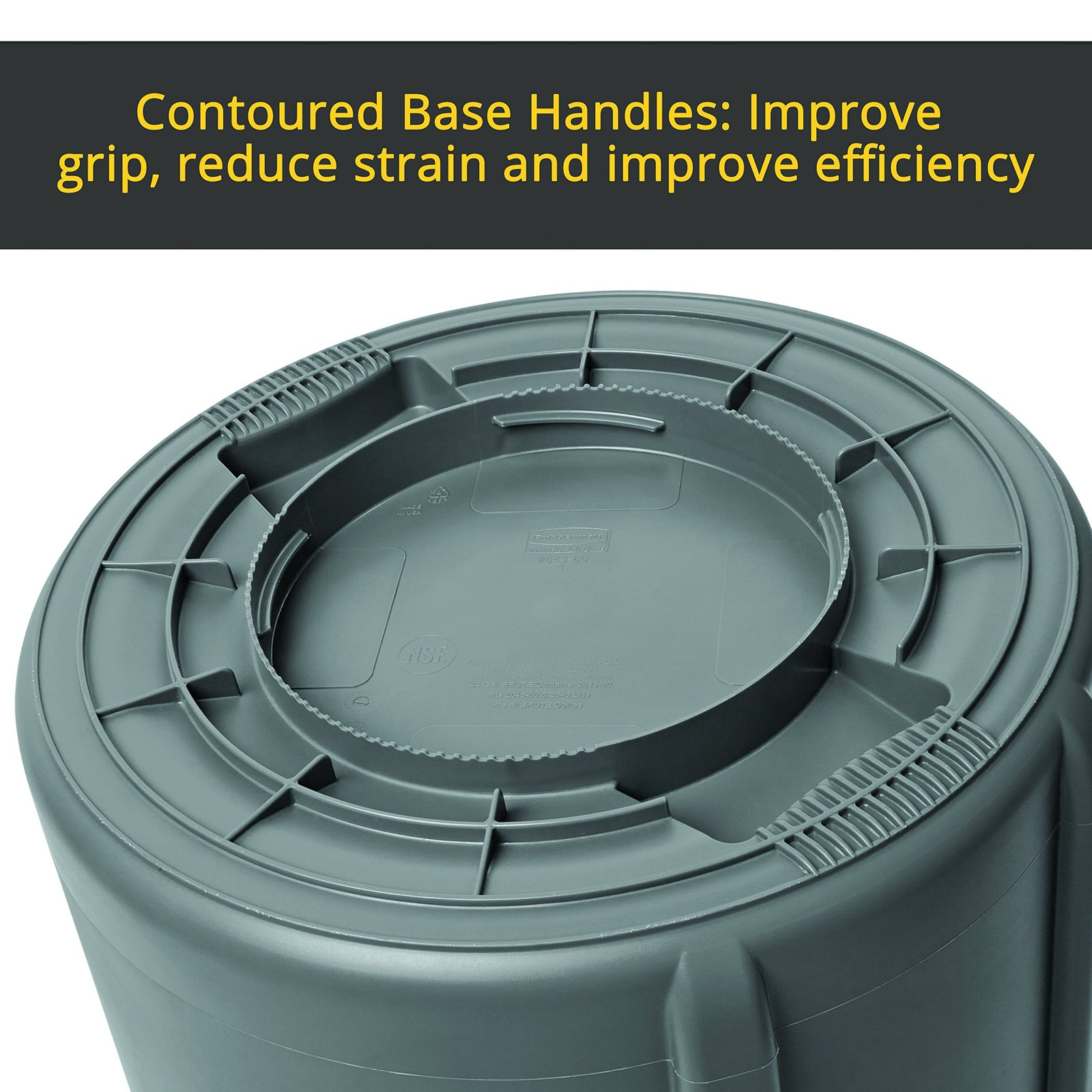 Rubbermaid Commercial BRUTE Trash Can, 20 and 50 similar items