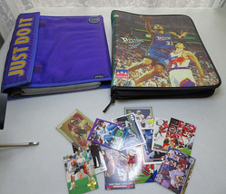 Vintage 90's Sports Cards Books lot of + 500 Baseball Football Basket - $40.00