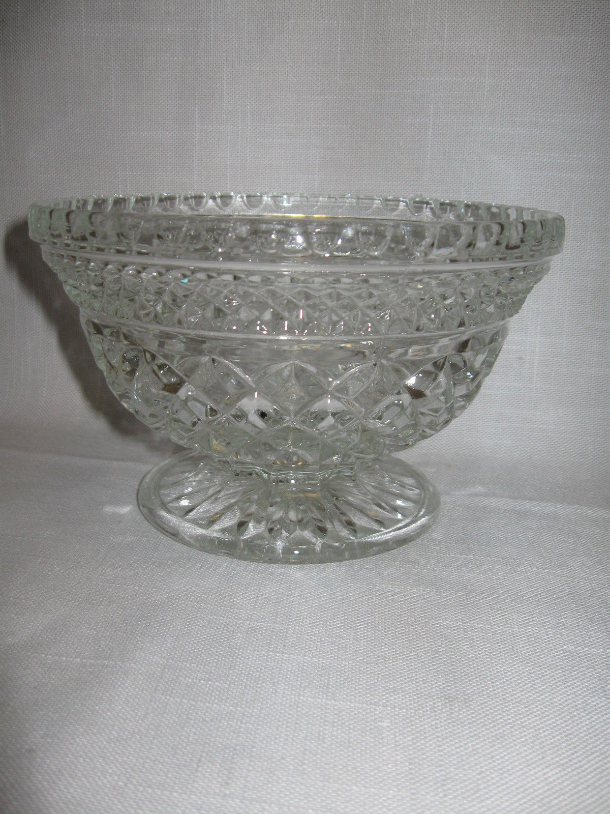 Wexford Pattern Candy Dish Only Anchor Hocking Glass Co 1967-2000 - $9.95