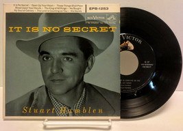 Stuart Hamblen It Is No Secret, RCA Victor EPB-1253, 45 rpm record set V... - $24.00