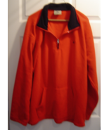 Beverly Hills Polo Club Men's Red Pullover Fleece 1/2 Zip Size XL - $15.99