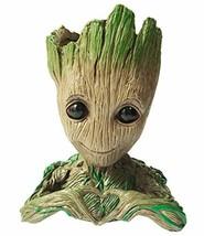 Flowerpot Treeman Baby Groot Succulent Planter Cute Green Plants Flower ... - $10.15