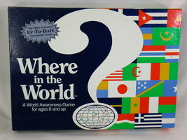 Where in the World 1993 Board Game Geography Social Studies Aristoplay - $7.35