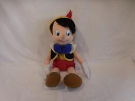Disney Pinocchio Stuffed Doll Realistic Hair Disney Toy Mattel Vintage 1... - $28.02