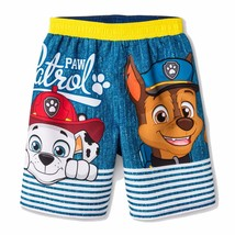 6b696707351a3 PAW PATROL CHASE UPF-50+ Boys Bathing Suit Swim Trunks NWT Toddler'