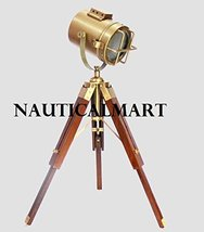 NauticalMart Designer Wooden Tripod Floor Lamp Searchlight -  Home Decor  - $120.00