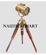 NauticalMart Designer Wooden Tripod Floor Lamp Searchlight -  Home Decor  - $120.00