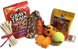 Twisted Anchor Trading Co Dog Gift Set, Dog Toy Gift Set - Featuring Kon... - £20.85 GBP