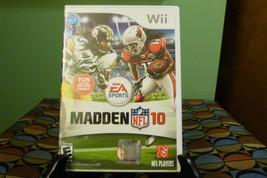 Madden NFL 10 (Nintendo Wii, 2009) Vg Condition - $6.92