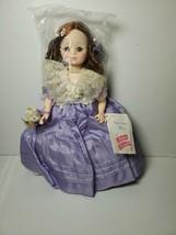"Vintage 13"" Madame Alexander MIMI #1411 Opera Series Doll in Purple Dress - $19.79"