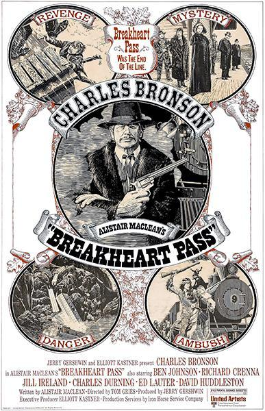Primary image for Breakheart Pass - 1975 - Movie Poster