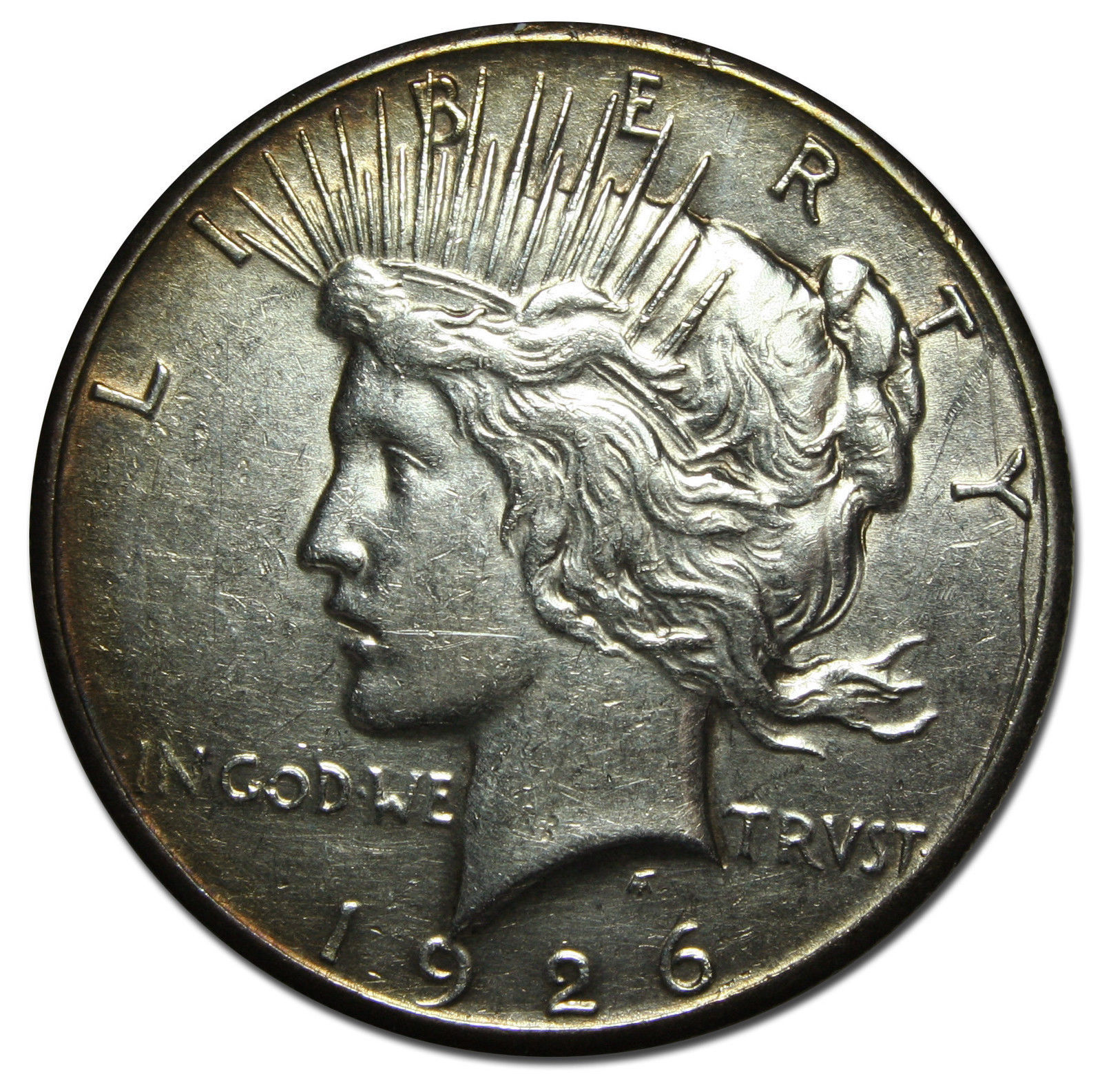 1926 Peace Silver Dollar Coin - Lot # MZ 3435