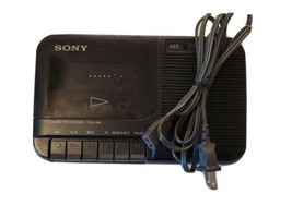 Sony TCM-818 Cassette-Corder Player Portable Tape Recorder with Built in... - $24.70