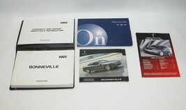 2005 Pontiac Bonneville Factory Original Owners Manual Book Portfolio #4 - $17.77