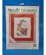 JCA Needle Treasures 2915 Christmas Mailbox Counted Cross Stitch Persona... - $12.86