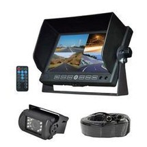 DVR Video Camera HD Recording Driving System, 7'' Display Monitor, Water... - $191.64