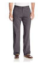 Lee Men's Weekend Chino Straight Fit Flat Front Pant 42X30 - $20.89
