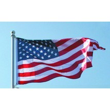 3 Ft. x 5 Ft. American Flag Patriotic United States Water Resistant Home... - £14.86 GBP
