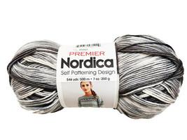 Premier Nordica Self Patterning Design Yarn in Gray Harbor #85807