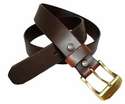 Levi's Men's Stylish Classic Premium Genuine Leather Belt Brown 11LV0204