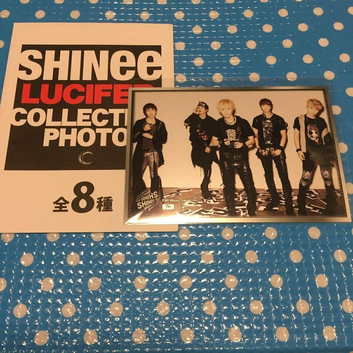 SHINee Raw Photo Lucifer Release Event Limited Discount