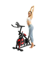 Stationary Indoor Fitness Spinning Bike for Cardio Workout and Cycling (... - $149.89