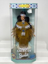 1997 Fourth Edition Native American Barbie Collector Edition With Stand.... - $34.64