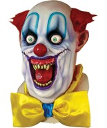 Halloween RICO THE DEMENTED CLOWN Adult Latex Deluxe Mask Ghoulish Produ... - $59.99