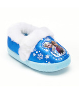 Disney Blue Frozen Elsa & Anna Girls' Slippers - $17.99