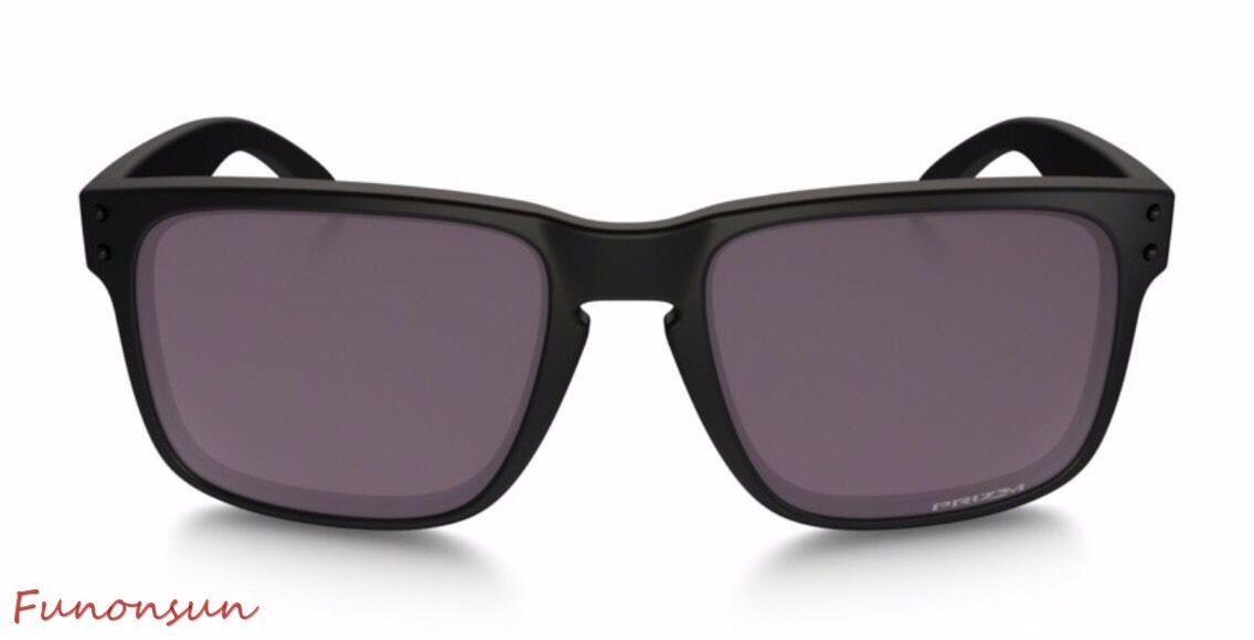 135fd2f7f9 Oakley Men s Sunglasses Holbrook OO9102-90 Polarized Black Brown Prizm Lens