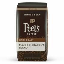 Peet's Coffee Dark Roast Whole Bean Coffee, Major Dickason's Blend, WHOLE BEAN,  - $24.65