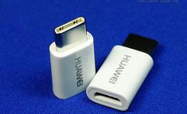 2x Huawei Original Micro USB Female to Type-C Male Adapter Converter Con... - $4.88
