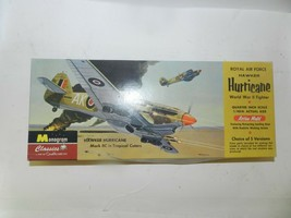 Monogram Royal Air Force Hurricane Wwii Fighter 1/48 Aircraft Model Kit 85-0090 - $19.79