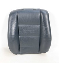 BMW E32 7-Series Front Seat Backrest Cushion Blue Leather 750iL 1988-199... - $123.75