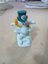 """Dept 56 Snowbabies - """"Fun with Frosty the Snowman"""" - $9.19"""