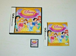 Disney Princess: Magical Jewels (Nintendo DS, 2007) TESTED COMPLETE NDS - $9.89