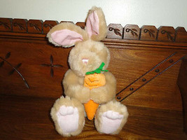 Ganz CARROT PATCH Bunny Rabbit Plush 12 inch  - $57.83