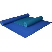 Extra Large Yoga Mat Blue Pilates Workout Exercise Gym Equipment 84 x 36... - $40.78