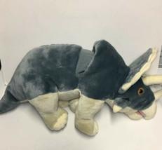 "Wild Republic Triceratops Hand Puppet 20"" Dinosaur Plush Stuffed Animal Dinosaur - $29.16"